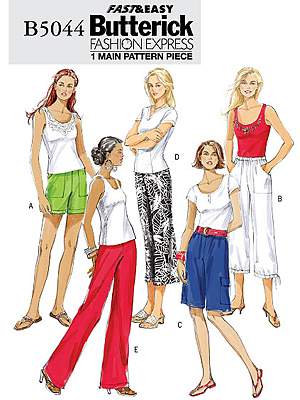 butterick pants pattern