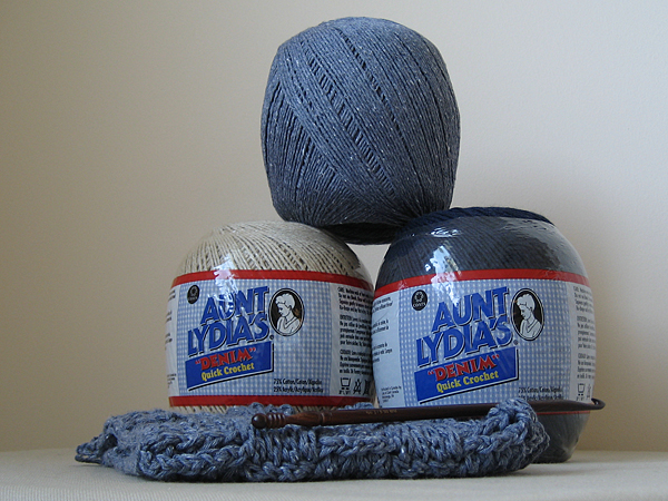 aunt lydia's denim quick crochet