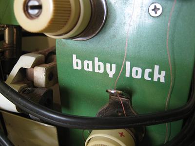 vintage babylock serger