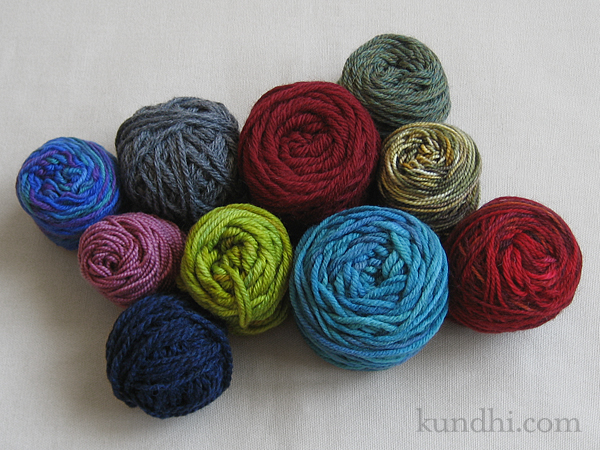 random odds and ends of yarn