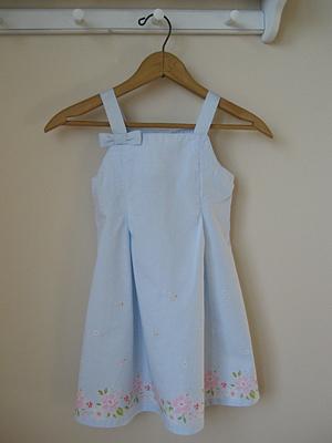 how to alter little girl dress