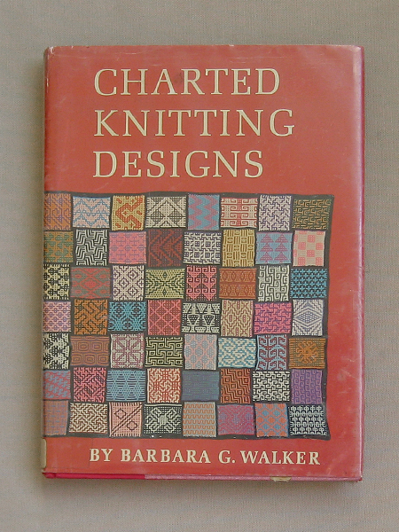 barbara walker charted knitting designs