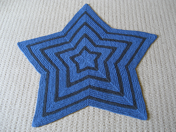 blue chromium star blanket