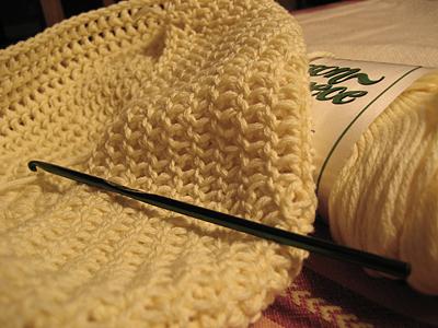 custom crochet hat