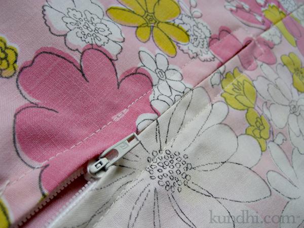 side zipper creative space