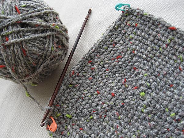 my creative space crochet basket