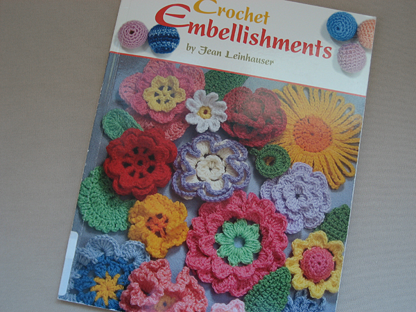 crochet embellishments leisure arts jean leinhauser