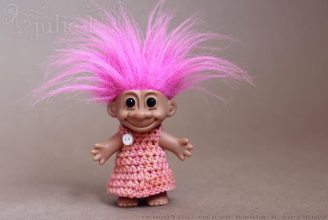 troll dress crochet pattern