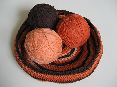crochet bag in progress