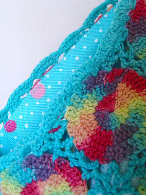 crochet top to tote bag