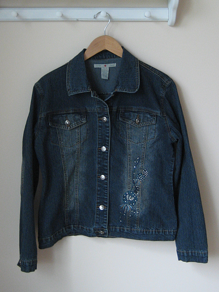 thrifty thursday denim jacket