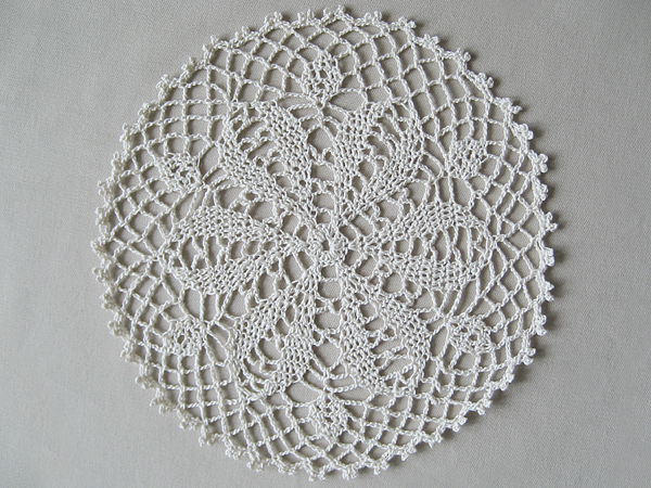 Crocheting Doilies Patterns : crochet doily kyuuto lacy crochet