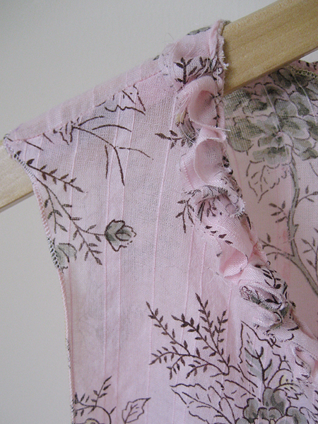 floral shirt refashion