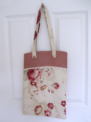 tablecloth tote bag