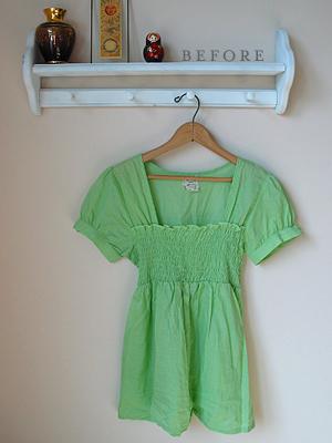 shirt to easy toddler dress