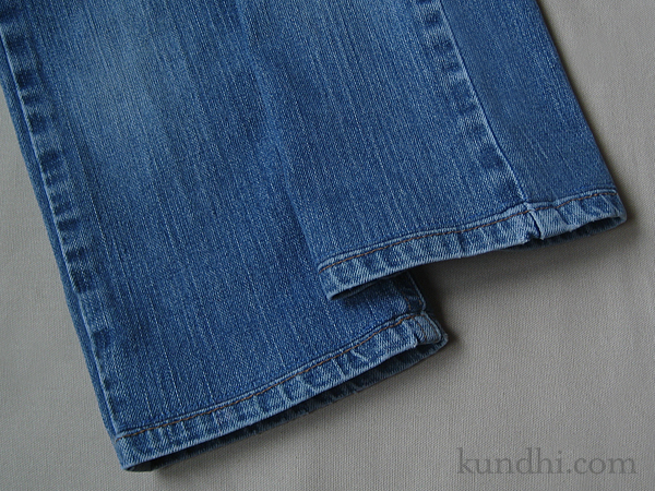 home ec class how to hem a pair of jeans