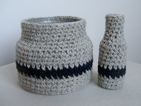 more crochet vases