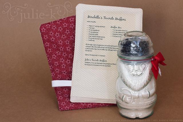 muffin in a jar gift