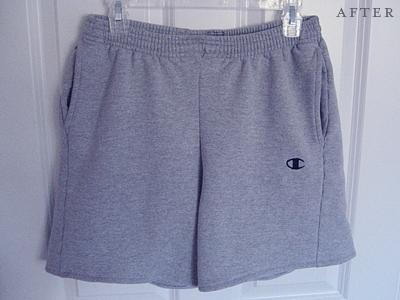 comfy shorts refashion
