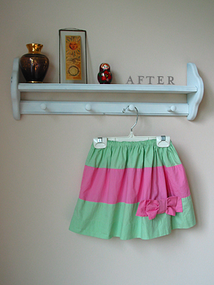 easy kids skirt pattern