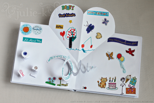 make your own pop up book