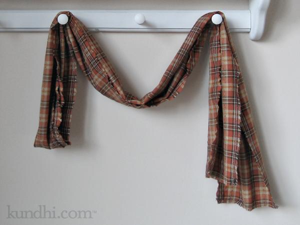 quickie fabric scarf