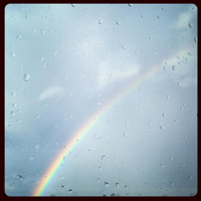 rainbow in Cincinnati