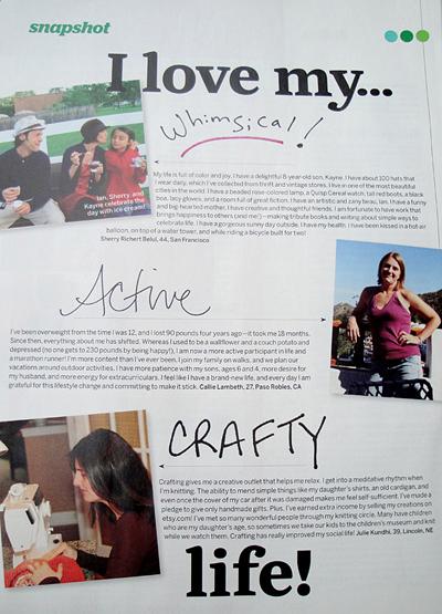my crafty life in redbook magazine