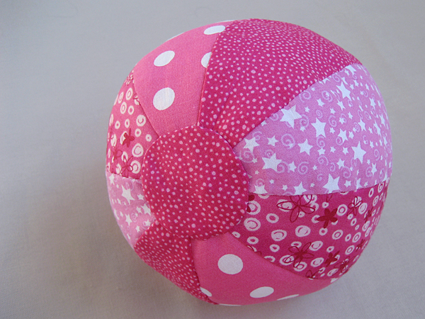 purl bee fabric beach ball