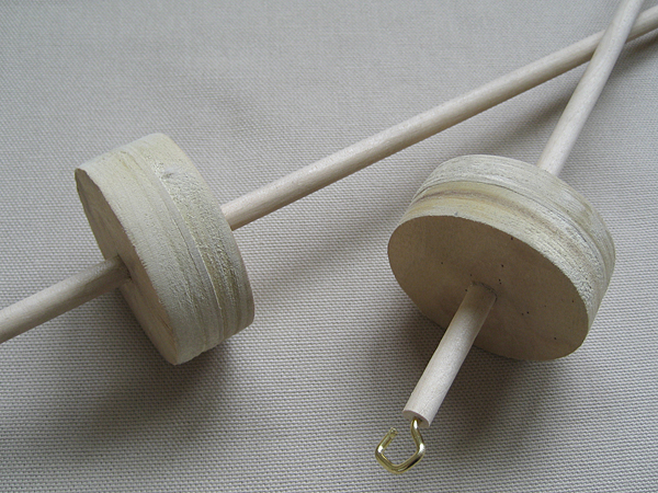 handmade drop spindle