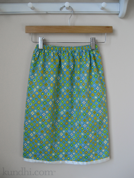summer twirly skirt