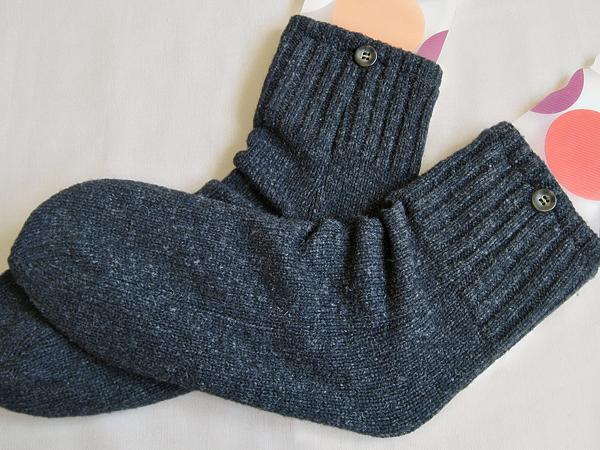 sweater sleeve socks