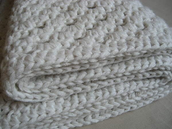 turn a sweater into a blanket
