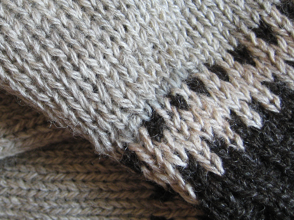 mend wool sweater