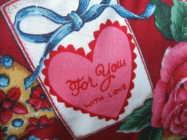 sweetheart cosmetic bag