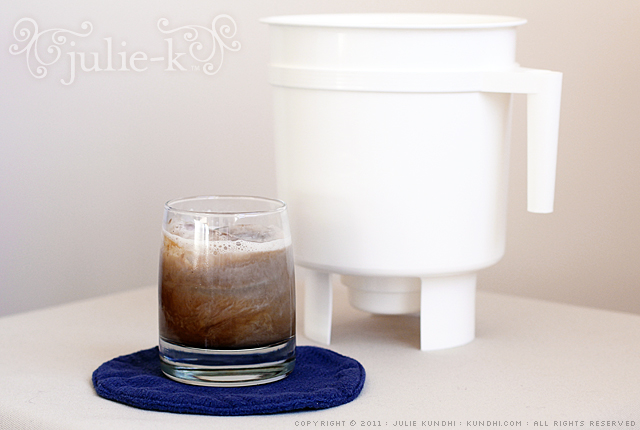 how to make an cold brewed coffee toddy filter