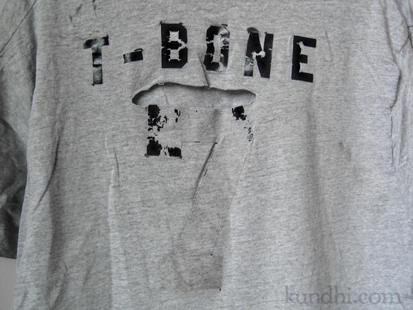 reverse applique tshirt