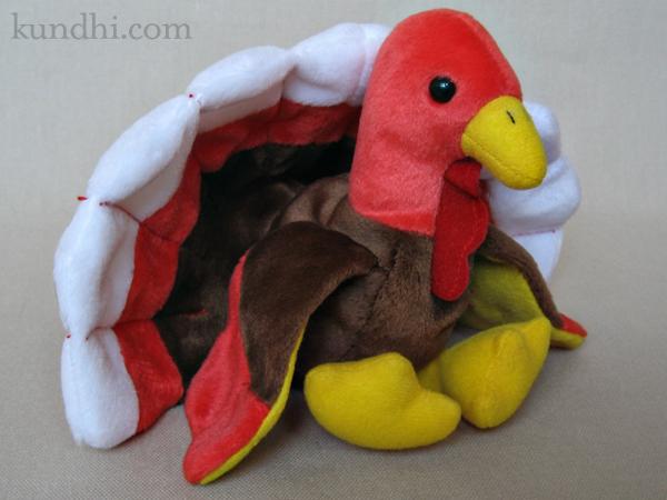 turkey beanie baby