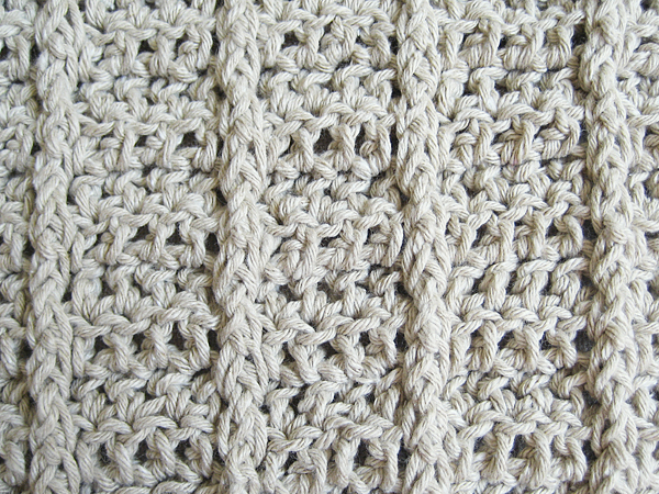 Dancing Shells Washcloth Free Crochet Pattern