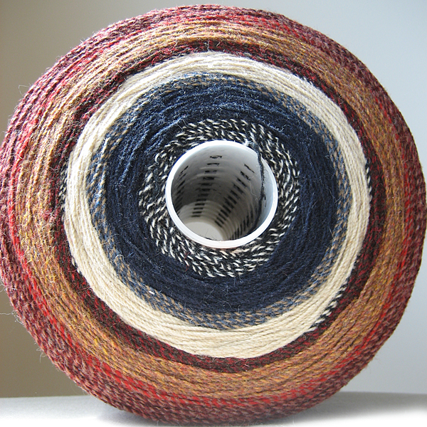 spool of wool from pendleton woolen mills