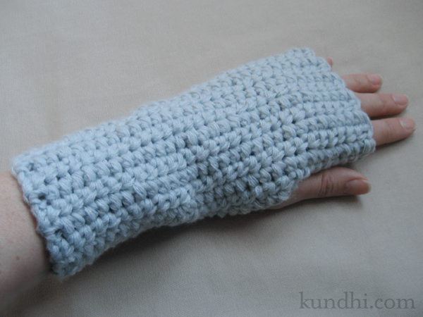 wrist warmer crochet pattern